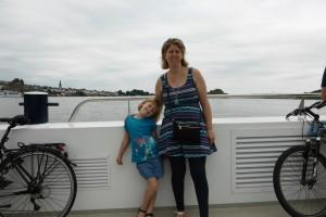 On traverse le Rhin en Ferry