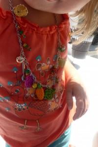 AI reçu un collier Cesar Manrique de Papa !