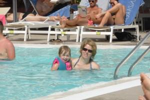 Je nage avec les grands